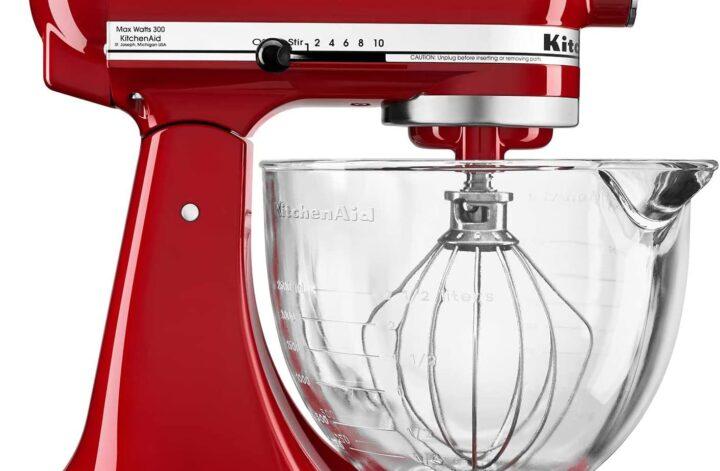 The KitchenAid 5 Quart Tilt Head Mixer